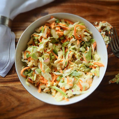 Salade de choux ou coleslaw