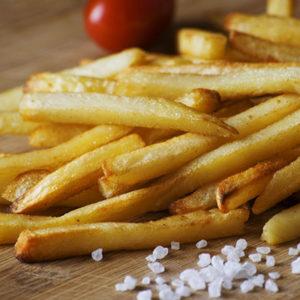 Manger des frites