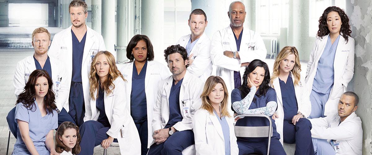 Le casting de Grey's Anatomy lors de la saison 8