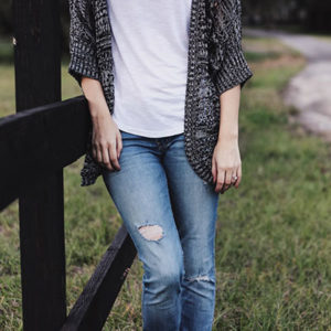 S'habiller en jean et t-shirt