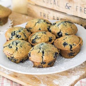 Muffin aux bleuets