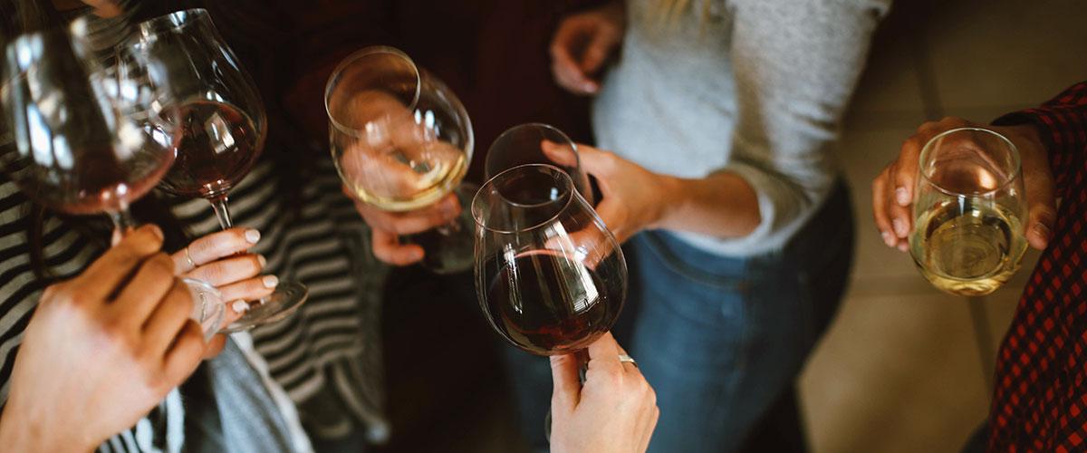 boire de l'alcool pour parler anglais