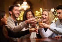 Boire de l'alcool pour parler une langue étrangère