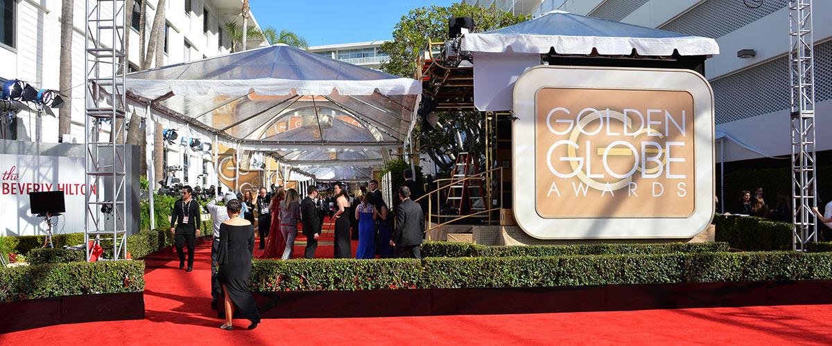 Tapis rouge aux Golden Globes