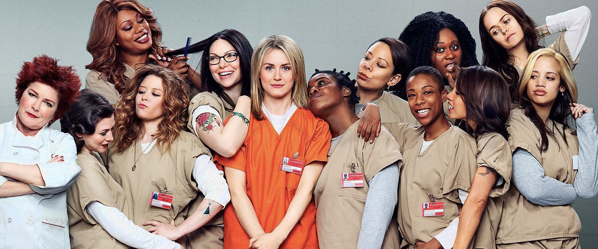 séries adaptées de livres comme Orange is the new black