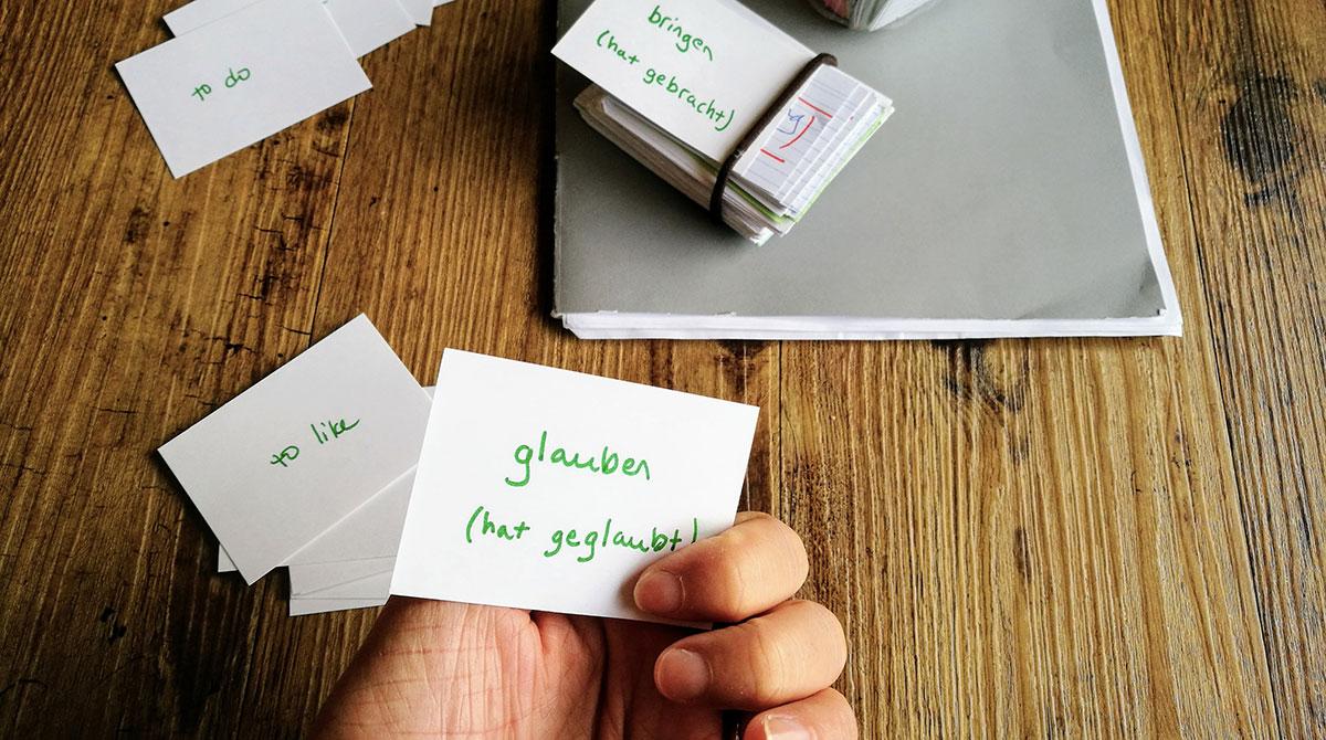Utiliser des flashcards et la répétition espacée