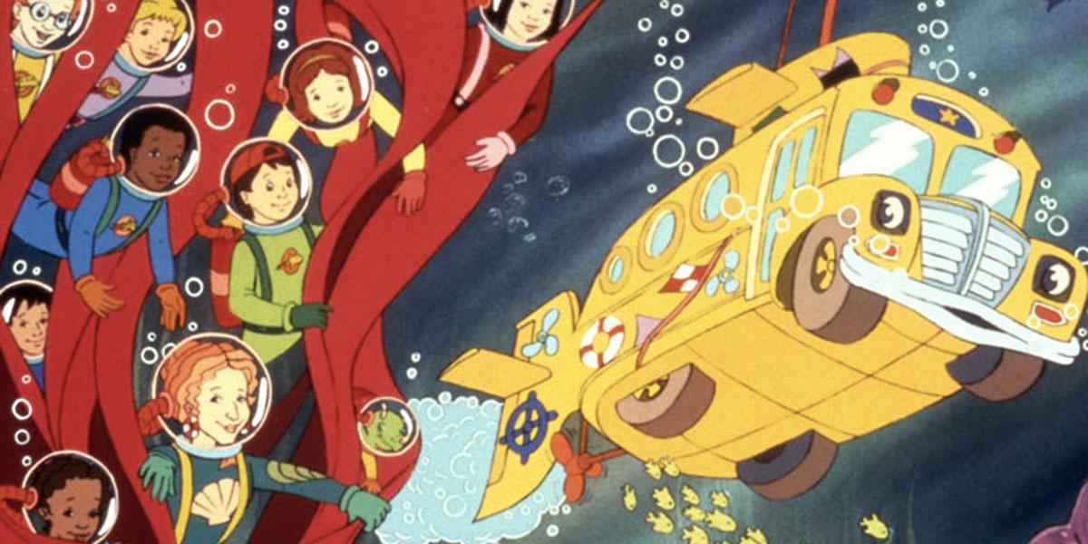 Dessins animés des années 90 dont le bus magique