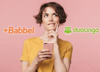 Babbel ou Duolingo