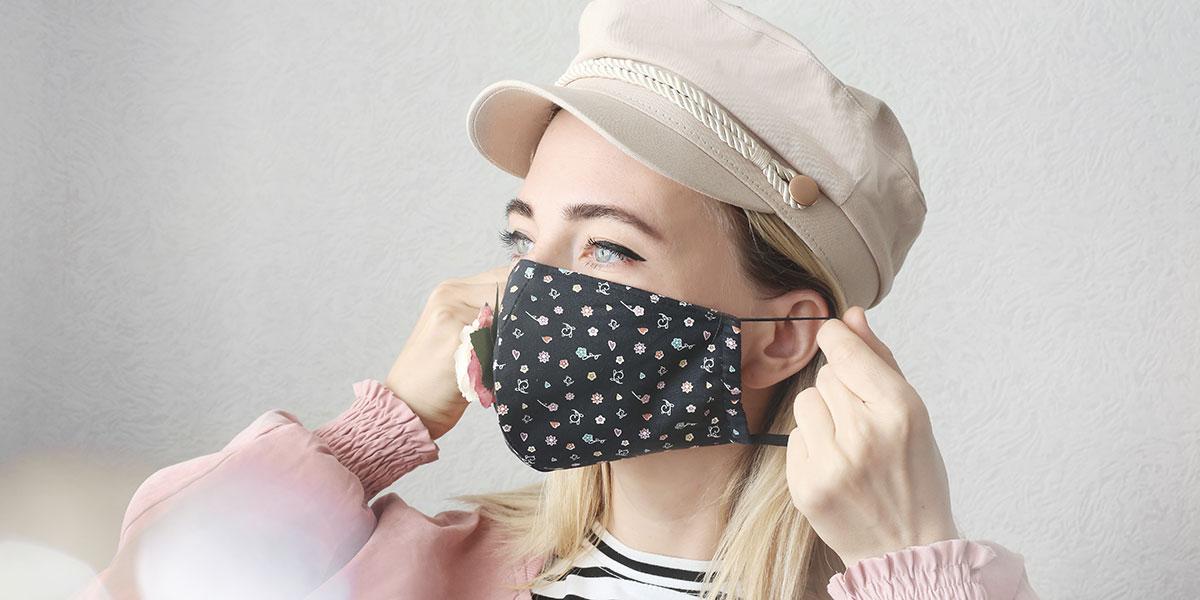 masque anti covid-19 en tissu