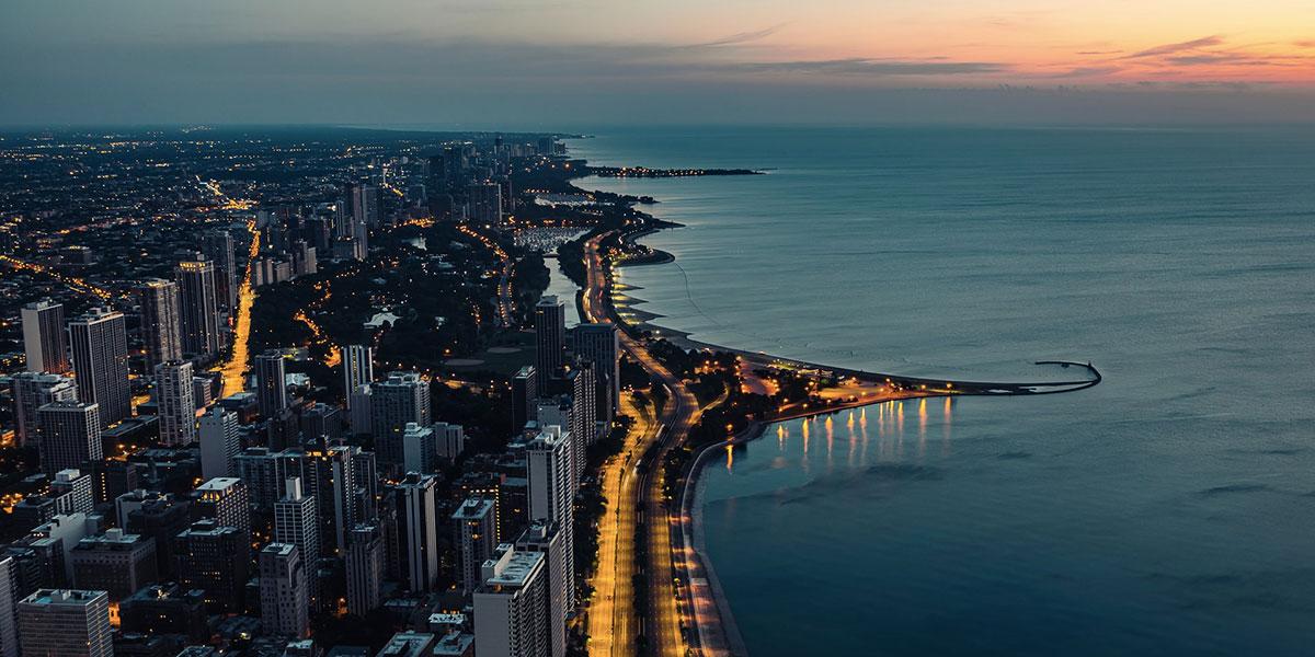 Visiter Chicago et le lac Michigan